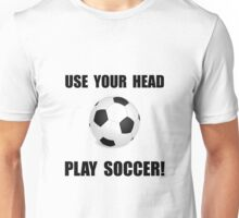 Soccer Head Unisex T-Shirt