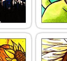 League Icons Sticker Sheet - Set 1 Sticker