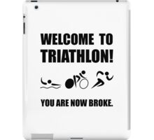Triathlon Broke iPad Case/Skin