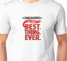 Sneaker is the Best Thing Ever - Bred Unisex T-Shirt