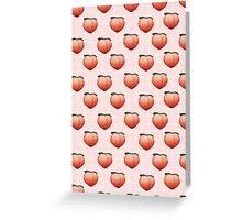 Peachy Keen 2.0 Greeting Card