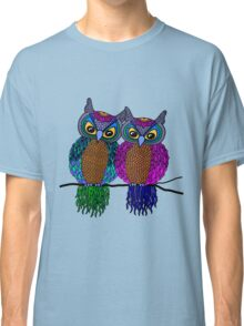 Owls in love colour Classic T-Shirt