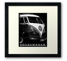 VW Kombi Classic © Framed Print
