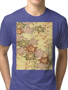 Carpet Leaves Tri-blend T-Shirt