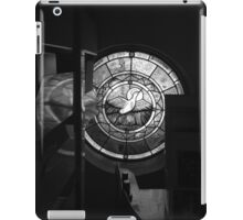 Black and White Stained Glass iPad Case/Skin