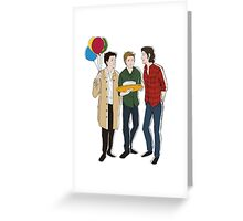 Supernatural Birthday Greeting Card