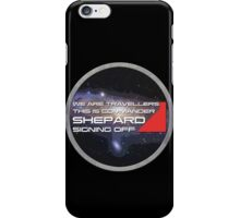 We are travellers iPhone Case/Skin