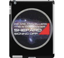 We are travellers iPad Case/Skin