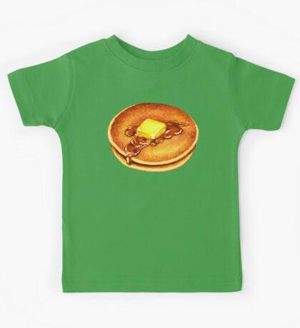 Pancakes Pattern Kids Tee