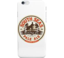 south seas pale ale iPhone Case/Skin