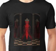 Red Ballgown Reflections Unisex T-Shirt
