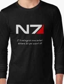 N7 - Renegade Shepard Long Sleeve T-Shirt