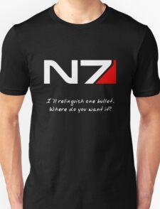 N7 - Renegade Shepard Unisex T-Shirt
