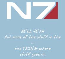 N7 - HELL YEAH Kids Tee