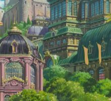 Howl's Moving Castle Scenery--The City Sticker
