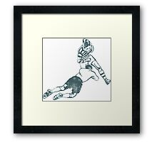 Rugby Players Framed Print