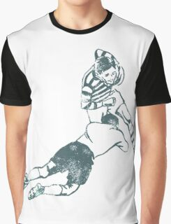 Rugby Players Graphic T-Shirt