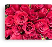 Roses for My Love Canvas Print