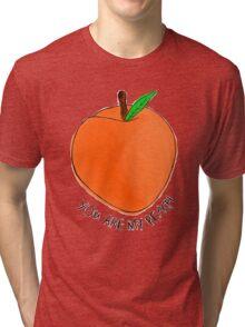 Peach Tri-blend T-Shirt