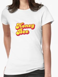 Honey Bee - Beyonce inspired print. Womens Fitted T-Shirt