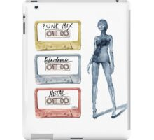 Tape Cassette Music Fashion Vintage Tape Girl legs Colorful Metal Punk Electronic iPad Case/Skin
