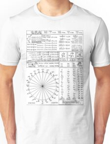 Trigonometry 1.0 Unisex T-Shirt