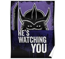 Shredder is Watching Poster