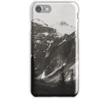 "The ""Seven Sisters"" Mountain Range, Banff, 1974 iPhone Case/Skin"