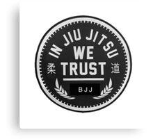 WE LOVE JIU JITSU Canvas Print