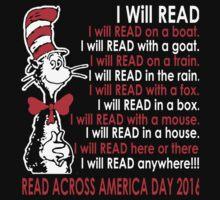 Read Across America Day is March 2, 2016! by tatitr
