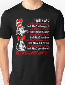 Read Across America Day is March 2, 2016! T-Shirt