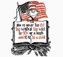 Read Across America Day is March 2, 2016! - D.r Seuss Day Women's Fitted Scoop T-Shirt