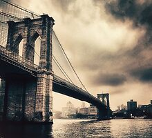 Brooklyn Bridge Vintage by Jessica Jenney