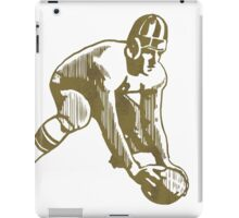 Football Player iPad Case/Skin