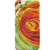 Fluorescent Wormhole iPhone Case/Skin