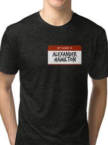 Hamilton Nametag 1 Tri-blend T-Shirt