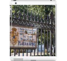 Plaza De Armas iPad Case/Skin