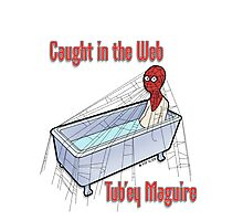 Tub'ey Maguire - Caught in the web Photographic Print