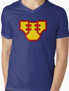 Superbaby Mens V-Neck T-Shirt