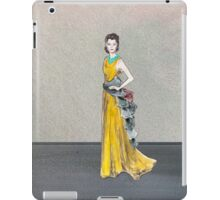 Golden Girl Fashion Hollywood Sport Music Dress Vintage Emerald Jewelry Oscars Red Carpet iPad Case/Skin