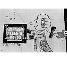 French Graffiti  Photographic Print
