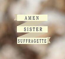 Amen Sister by letglitterain