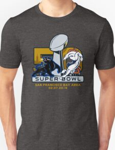 denver broncos vs carolina panthers super bowl 50 T-Shirt
