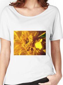 Yellow Flower Women's Relaxed Fit T-Shirt