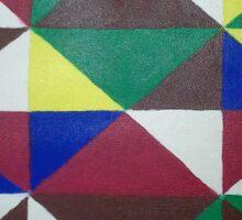 Bold Triangle Pattern Sticker