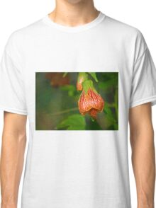 Red Hibiscus Blooming Classic T-Shirt