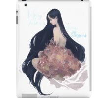 No spring no love or cherry blossoms iPad Case/Skin