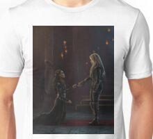 Lexa bows to Clarke Unisex T-Shirt