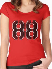 88 Classic Women's Fitted Scoop T-Shirt