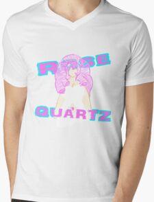 Rose Quartz Mens V-Neck T-Shirt